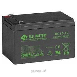 Аккумулятор для ИБП B.B. Battery BC12-12