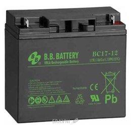 Аккумулятор для ИБП B.B. Battery BC17-12