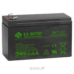 Аккумулятор для ИБП B.B. Battery BC7-12