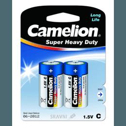 Батарейку, аккумулятор (AA/AAA/C/D) Camelion R14P-BP2B