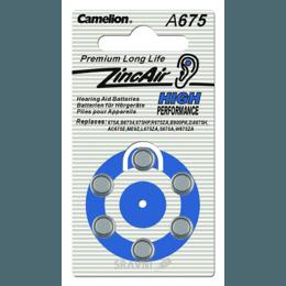 Батарейку, аккумулятор (AA/AAA/C/D) Camelion A675-BP6