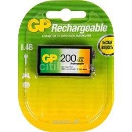 Батарейку, аккумулятор (AA/AAA/C/D) GP Batteries Krona 200mAh NiMh 1шт (20R8H)