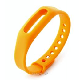 Ремешок для умных часов и спортивных браслетов Xiaomi Mi Band (Mi Fit) Orange