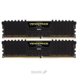 Модуль памяти для ПК и ноутбука Corsair 16GB (2x8GB) DDR4 2133 MHz Vengeance LPX C13 (CMK16GX4M2A2133C13)