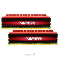 Patriot 16GB (2x8GB) DDR4 3000MHz Viper 4 (PV416G300C6K)