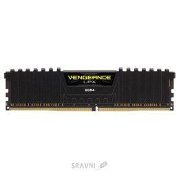 Модуль памяти для ПК и ноутбука Corsair 4GB DDR4 2400 MHz Vengeance LPX Black (CMK4GX4M1A2400C16)