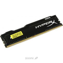 Модуль памяти для ПК и ноутбука Kingston 8GB DDR4 2666MHz HyperX Fury Black (HX426C16FB2/8)