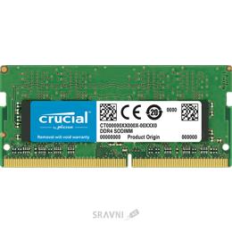 Фото Crucial 8GB DDR4 2400MHz SO-DIMM (CT8G4SFD824A)