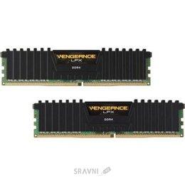 Модуль памяти для ПК и ноутбука Corsair 16GB (2x8GB) DDR4 3000MHz Vengeance LPX (CMK16GX4M2L3000C15)