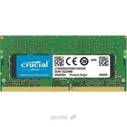 Модуль памяти для ПК и ноутбука Crucial 4GB DDR4 SODIMM 2666MHz (CT4G4SFS8266)