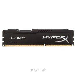 Модуль памяти для ПК и ноутбука Kingston 4GB DDR3 1600MHz HyperX FURY (HX316C10FB/4)