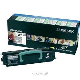 Картридж, тонер-картридж для принтера Lexmark X203A11G