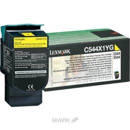 Картридж, тонер-картридж для принтера Lexmark C544X1YG