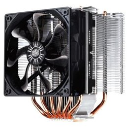 Систему охлаждения (вентиляторы, радиаторы, кулеры) CoolerMaster Hyper 612S