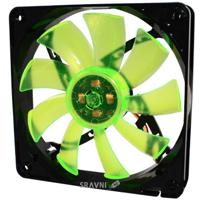 Систему охлаждения (вентилятор, кулер) GELID Solutions WING 12 PL Green