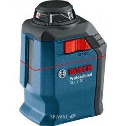 Контрольно-измерительное оборудование Bosch GLL 2-20 + BM3 (0601063J00)
