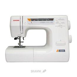 Швейную машинку и оверлоку Janome 7524A