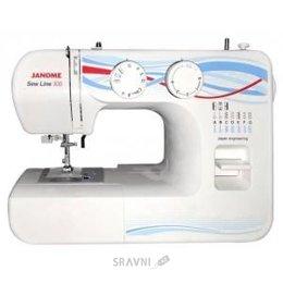 Швейную машинку и оверлоку Janome Sew Line 300