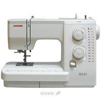 Швейную машинку и оверлоку Janome SE-522