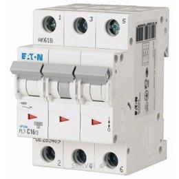 Автоматический выключатель Eaton PL7-C16/3 (263409)