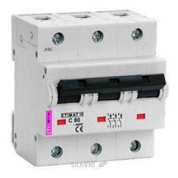Автоматический выключатель ETI ETIMAT 10 3p C 100A 20 kA (2135732)