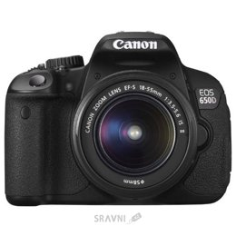 Цифровой фотоаппарат Canon EOS 650D Kit