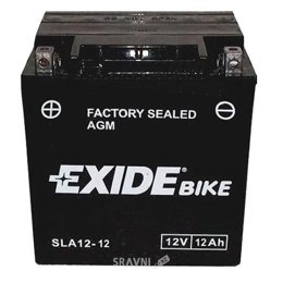 Аккумуляторную батарею Exide AGM12-12