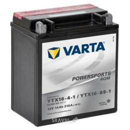 Аккумуляторную батарею Varta 6CT-14 FUNSTART AGM (YTX16-4-1, YTX16-BS-1)