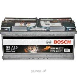 Аккумуляторную батарею Bosch 6CT-105 АзЕ S5 AGM (S5A 150)