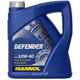 Моторное масло Mannol DEFENDER 10W-40 5л