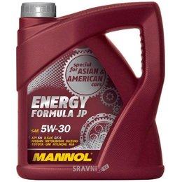 Моторное масло Mannol Energy Formula JP 5W-30 4л
