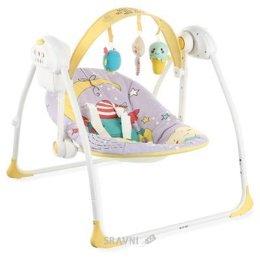 Кресло-качалка. Шезлонг детский Happy Baby Jolly
