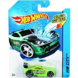 Машинку. Железную дорогу. Паровозик детский Hot Wheels Машинка Измени цвет (BHR15)