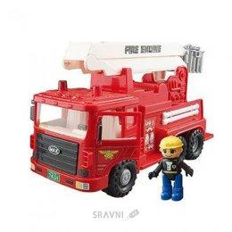 Машинку. Железную дорогу. Паровозик детский Daesung Пожарная машина (959-1)