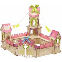 Конструктор детский Конструктор Woody Дворец принцессы 57 деталей (B00808)