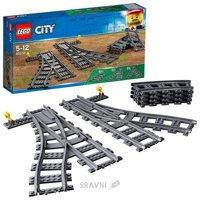 Конструктор детский Конструктор LEGO City 60238 Железнодорожные стрелки