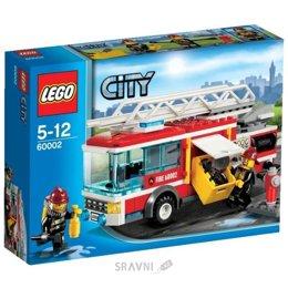 Конструктор детский LEGO City 60002 Пожарная машина