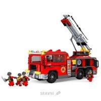 Конструктор детский Конструктор Ausini Пожарная бригада 21702