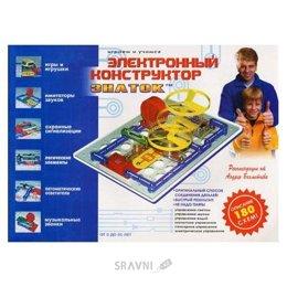 Конструктор детский Знаток Электронный конструктор (180 схем) (REW-K003)