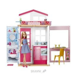 Куклу Mattel Barbie Домик портативный (DVV47)