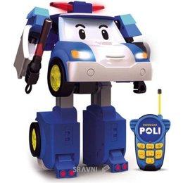 Радиоуправляемую модель для детей Silverlit Робот-трансформер Поли на р/у (83185)