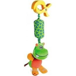 Погремушку, прорезыватель Canpol Babies Игрушка-подвеска мягкая с колокольчиком (68/009)