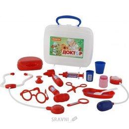 Ролевая игра для детей ПОЛЕСЬЕ Набор Доктор №3, в чемоданчике (56559)