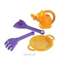 Развивающую игрушку для малыша Тигрес Песочный набор для детей «Фантазия» с лейкой (39056)