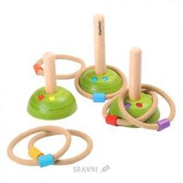 Спортивную игру для детей PlanToys Кольцеброс (5652)