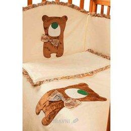 Детскую постель Makkaroni Kids Toy Teddy (6 предметов)