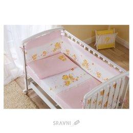 Детскую постель Perina Комплект в кроватку Фея (4 предмета)