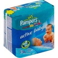 Подгузник Pampers Active Baby Midi 3 (22 шт.)