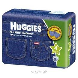 Подгузник Huggies Трусики для девочек 4 (17 шт.)