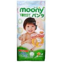 Moony Подгузники-трусики для мальчиков L 9-14 кг (44 шт.)